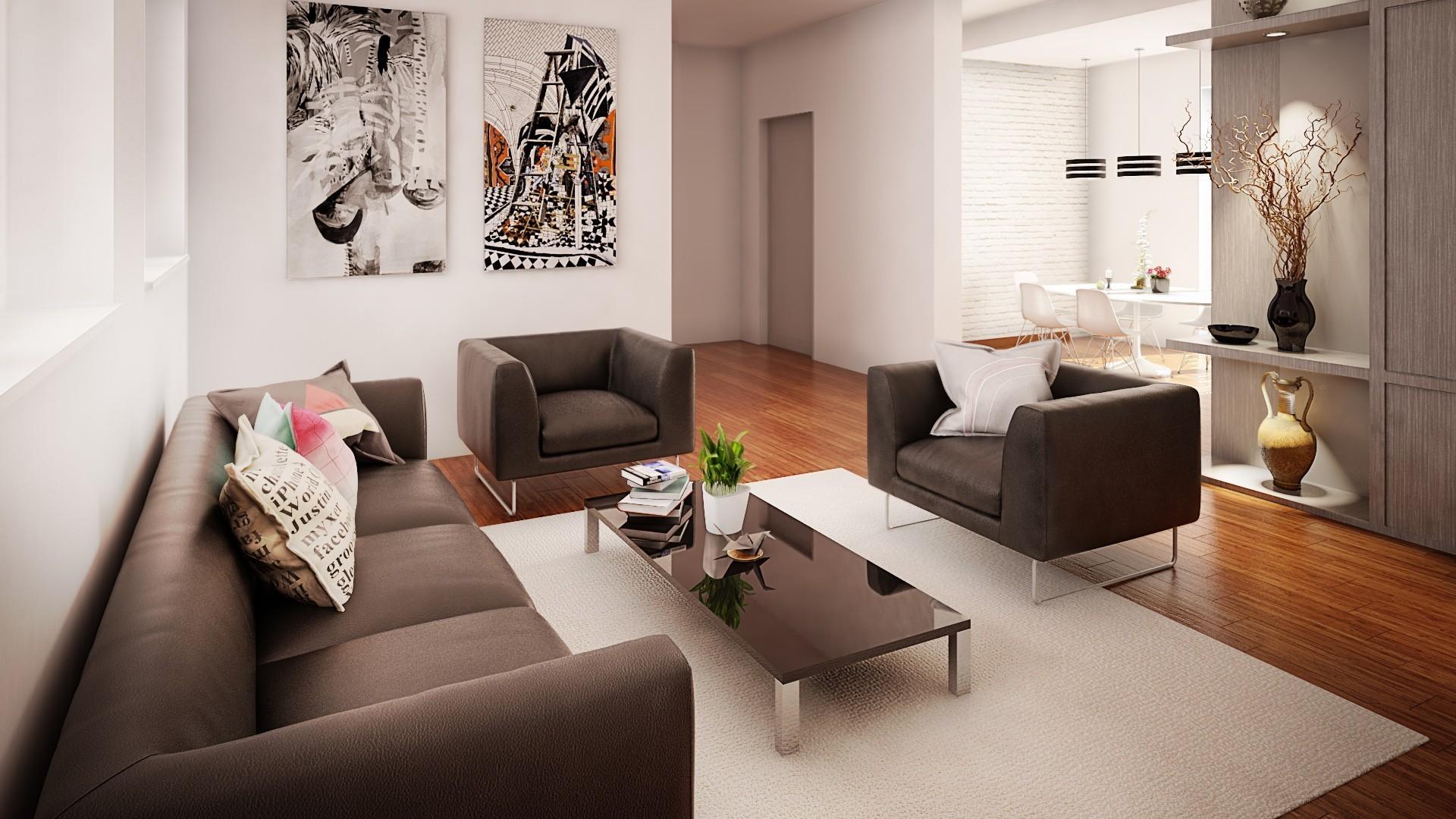 Dnevna soba stana od 160 m2