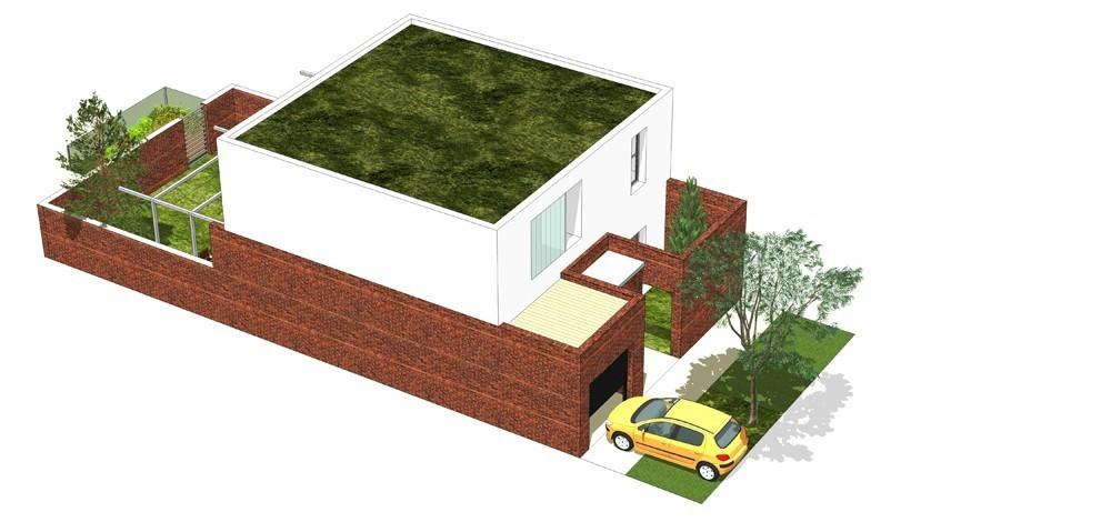 Tip kuće L ulični prikaz - Solarna dolina Faza II