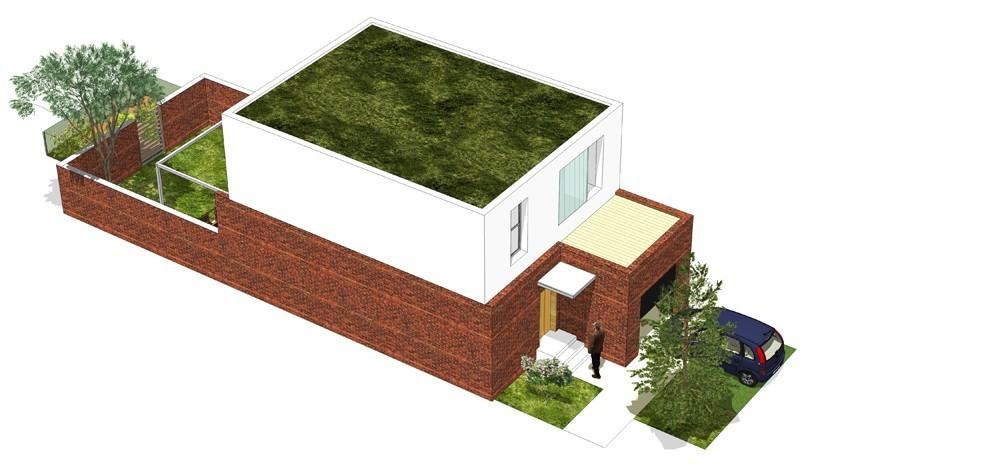 Tip kuće M ulični prikaz - Solarna dolina Faza II