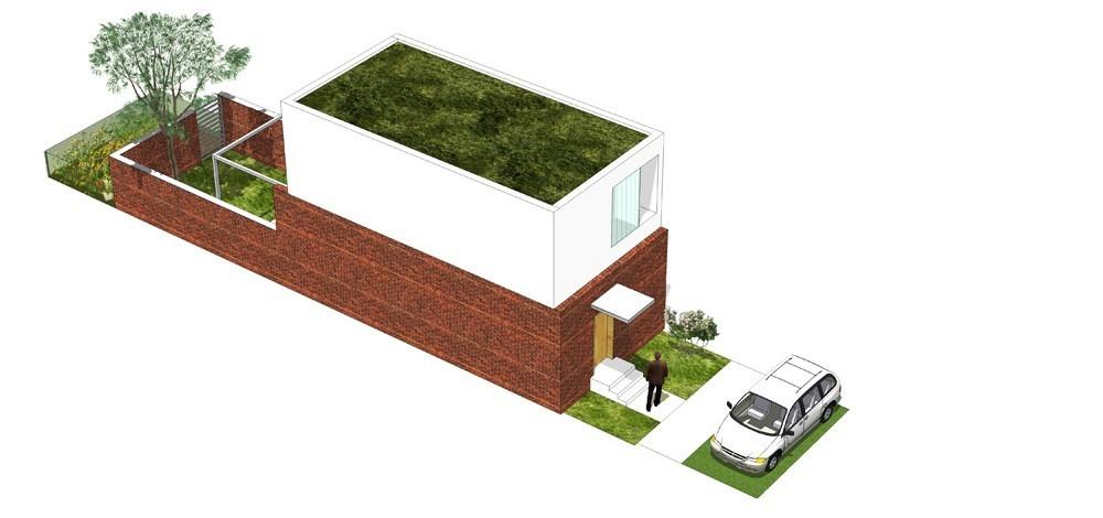 Tip kuće S ulični prikaz - Solarna dolina Faza II